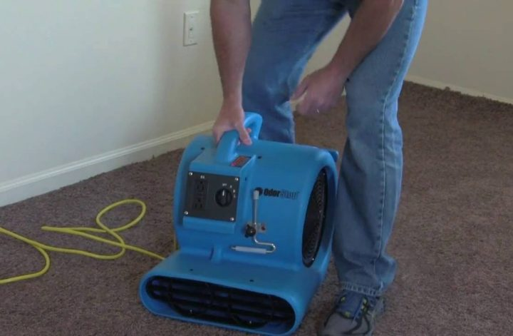 Carpet-dryers